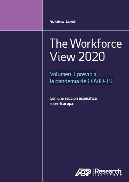 La fuerza de trabajo 2020: Volumen 1 previo a la pandemia de COVID-19