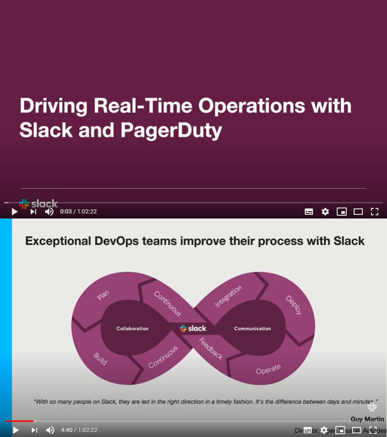Conduciendo operaciones en tiempo real con Slack & PagerDuty