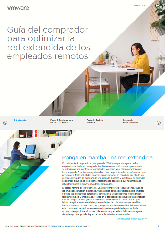 Guía del comprador para optimizar la red extendida de los empleados remotos