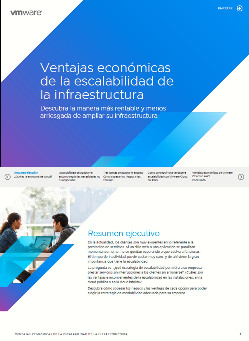 Ventajas económicas de la escalabilidad de la infraestructura