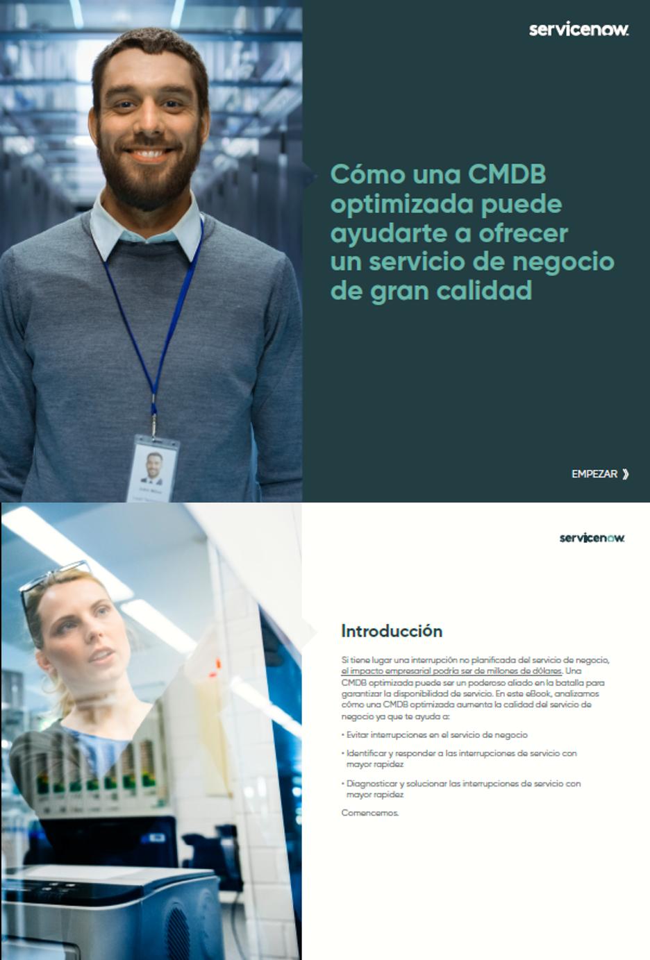 Cómo una CMDB optimizada puede ayudarte a ofrecer un servicio de negocio de gran calidad
