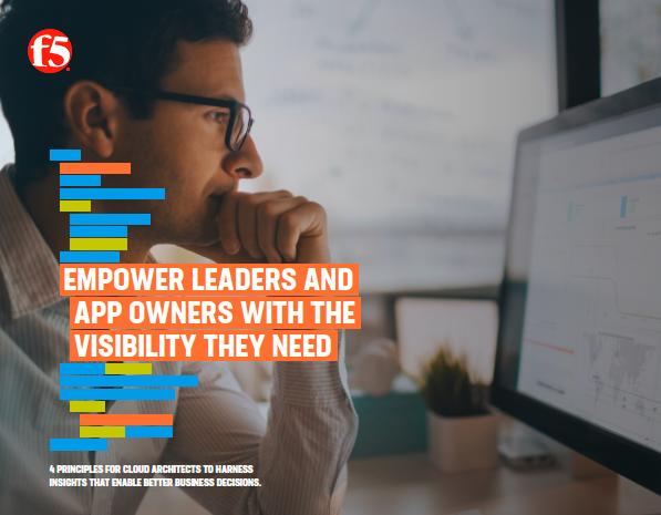 Dar a los líderes y a los propietarios de aplicaciones la visibilidad que necesitan