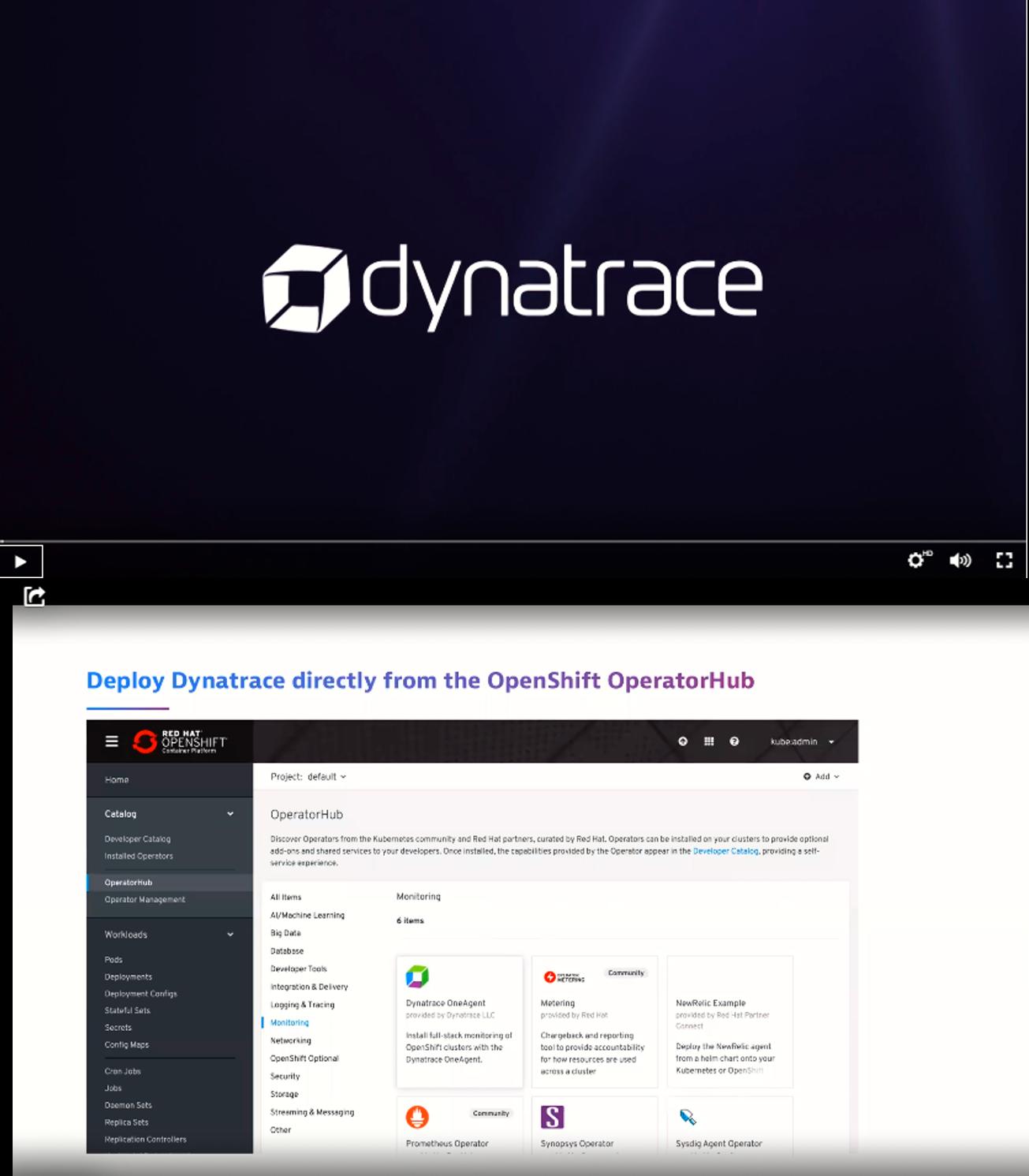 Demo: Monitorización de Kubernetes y OpenShift 4.0