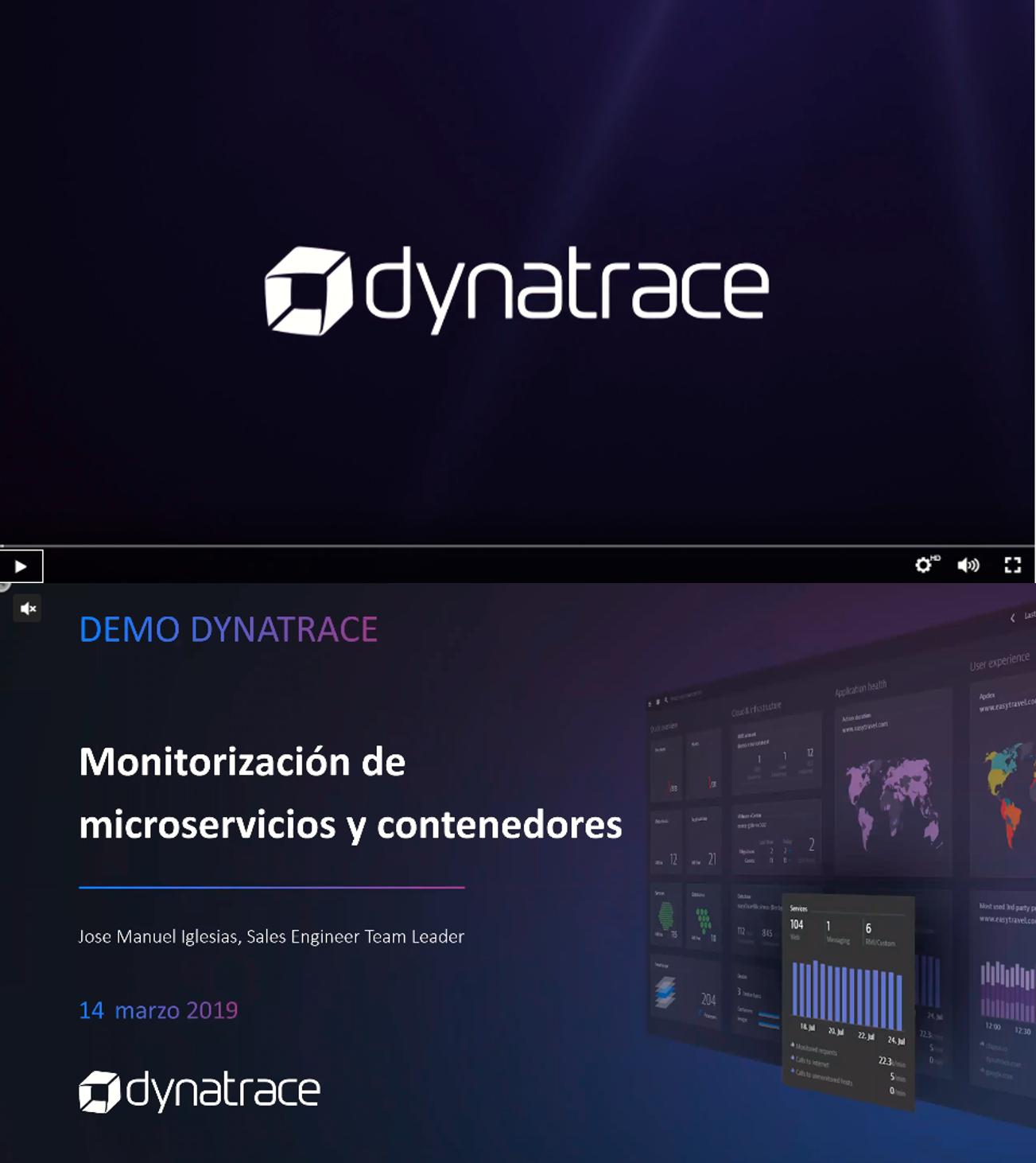Dynatrace: Monitorización de microservicios y contenedores
