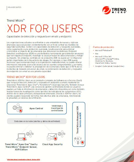 XDR Para usuarios