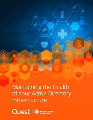 Mantener la salud de la infraestructura de su Directorio Activo
