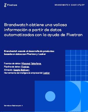 Brandwatch obtiene una valiosa información a partir de datos automatizados con la ayuda de Fivetran