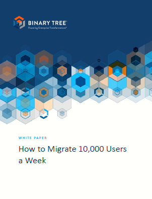 Cómo migrar 10.000 usuarios a la semana