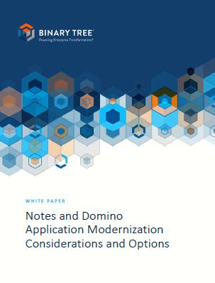 Consideraciones y opciones para la modernización de las aplicaciones de dominó