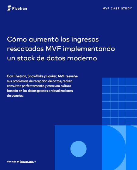 Cómo aumentó los ingresos rescatados MVF implementando un stack de datos moderno