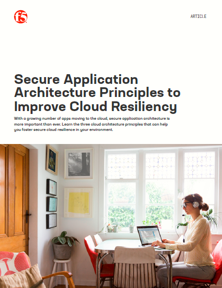 Aplicación segura: Principios de arquitectura para Mejorar la resistencia de las nubes