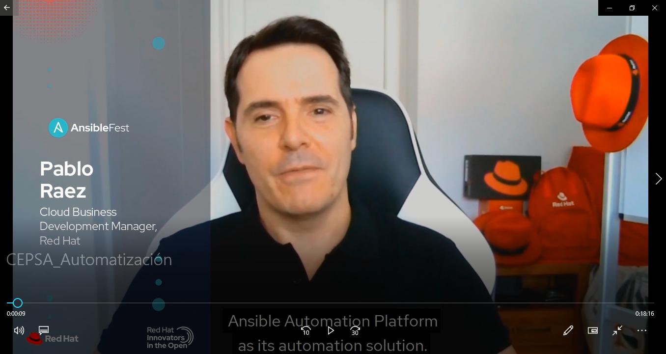 CEPSA Automatización- Ansible Automation platform