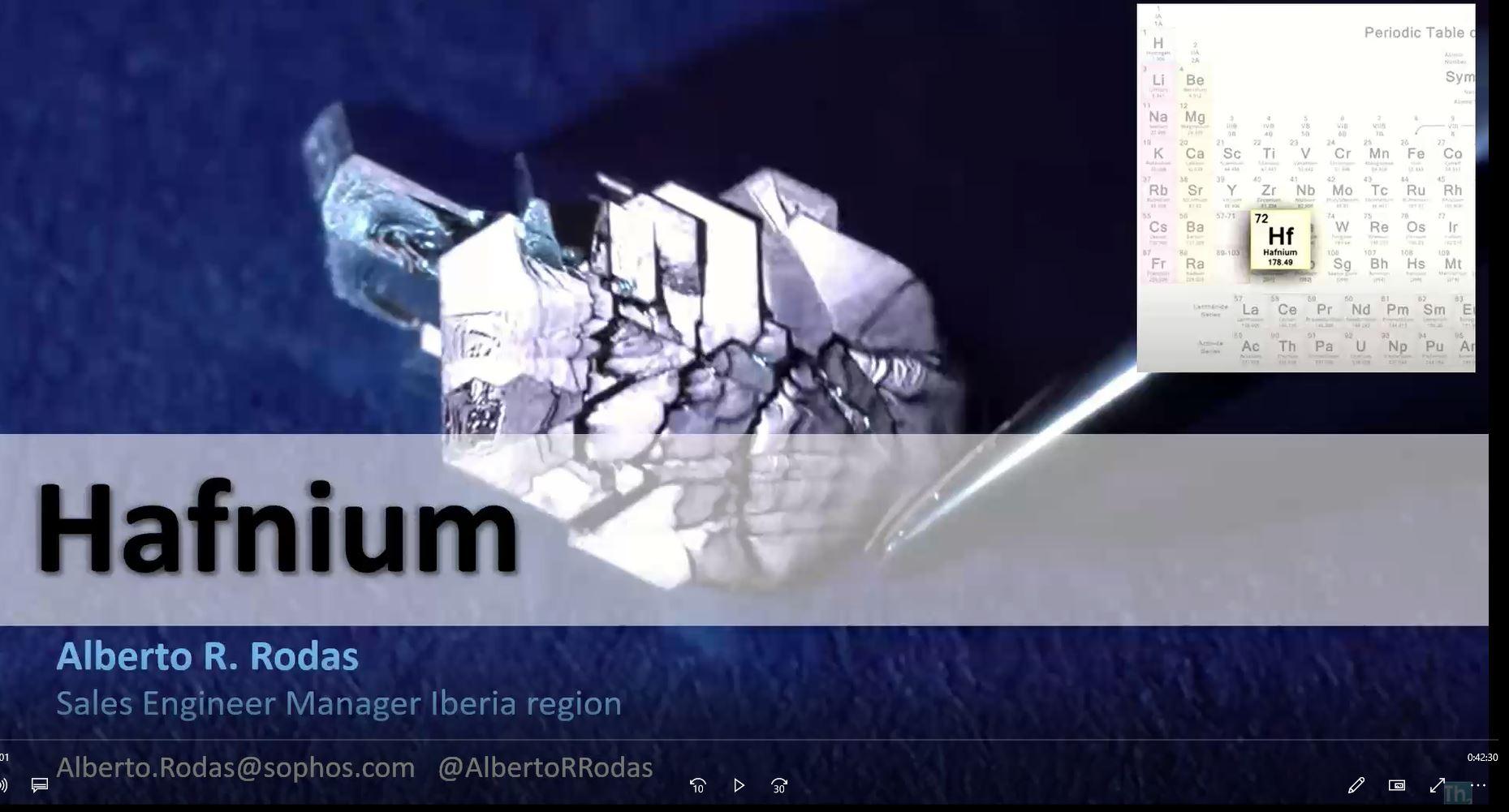 Webinar HAFNIUM