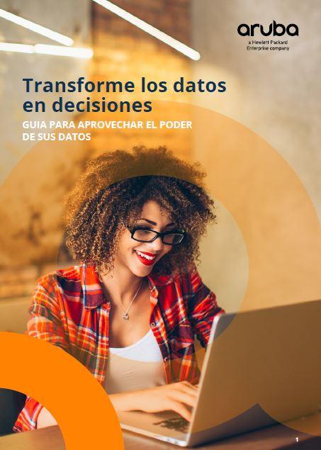 Transforme los datos en decisiones