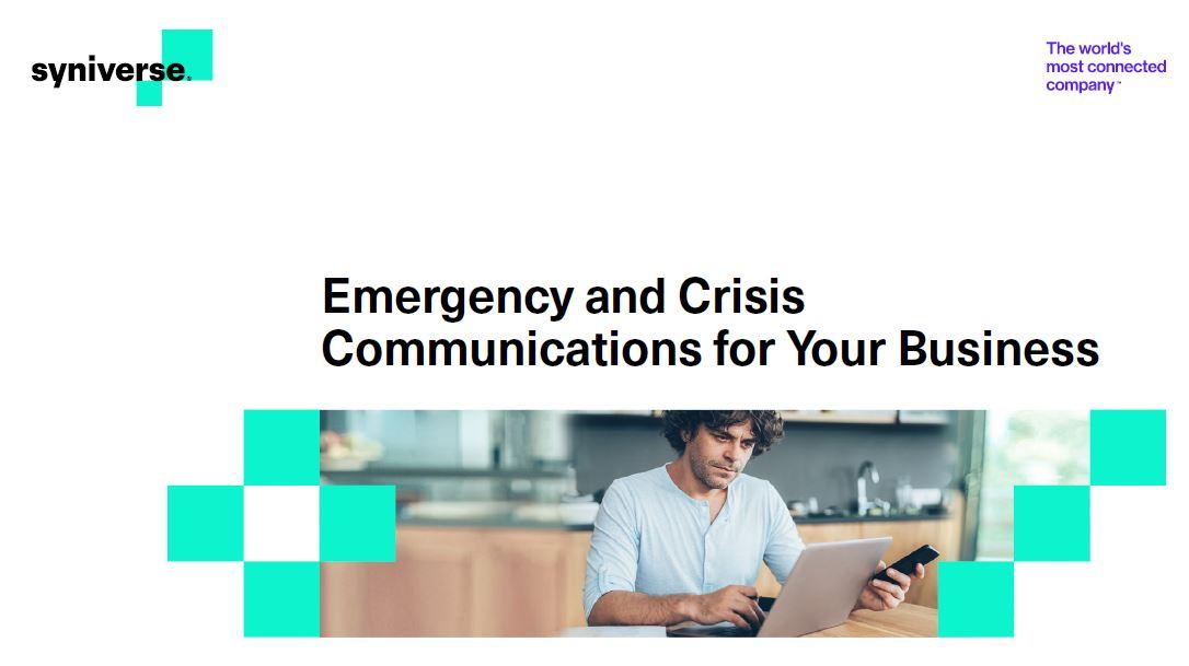Comunicaciones de emergencia y crisis para su empresa