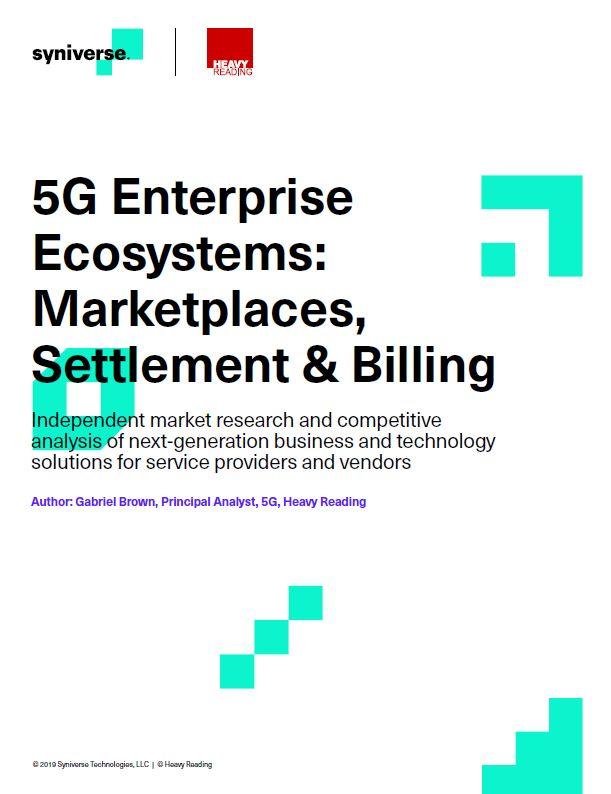 Ecosistemas empresariales 5G: Mercados, liquidación y facturación