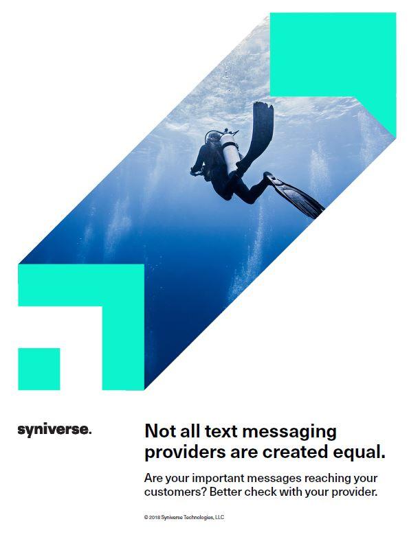 No todos los proveedores de mensajería de texto son iguales