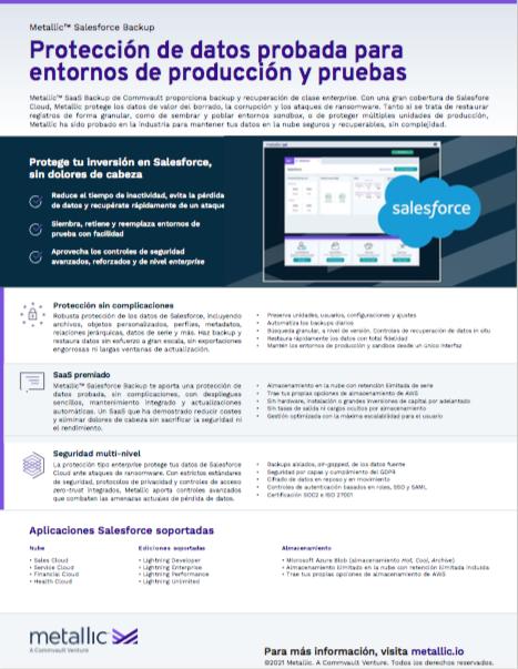 Protección de datos probada para entornos de producción y pruebas