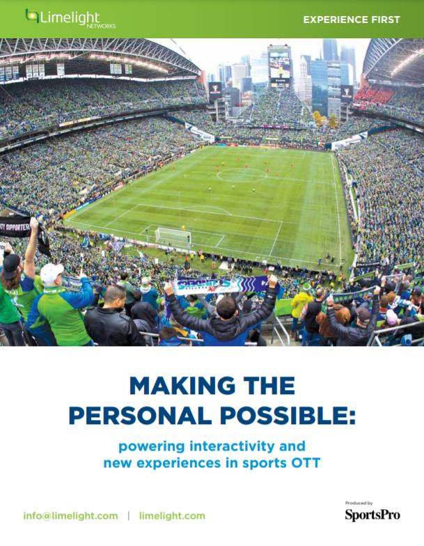Haciendo posible lo personal: potenciando la interactividad y nuevas experiencias en los deportes OTT