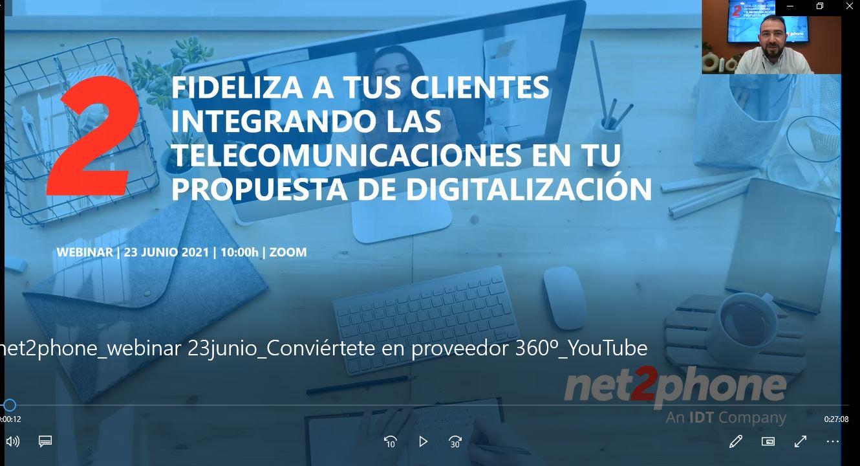Fideliza a tus clientes Integrando las telecomunicaciones en tu propuesta de digitalización
