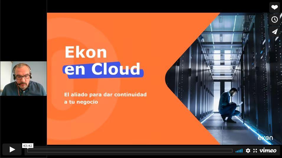 Webinar La realidad actual del cloud y sus beneficios para la pyme