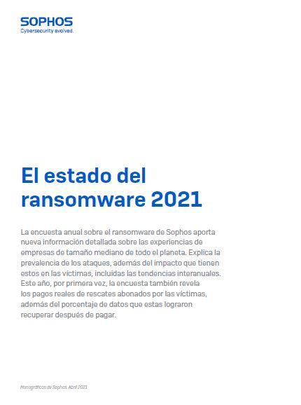 Monográficos de Sophos. El estado del ransomware 2021